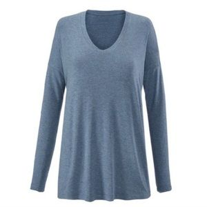 CAbi Heather Blue Relax Tee